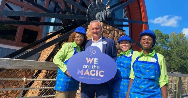 Disney Cast Members Celebrate the reopening of Port Orleans Riverside Resort 1
