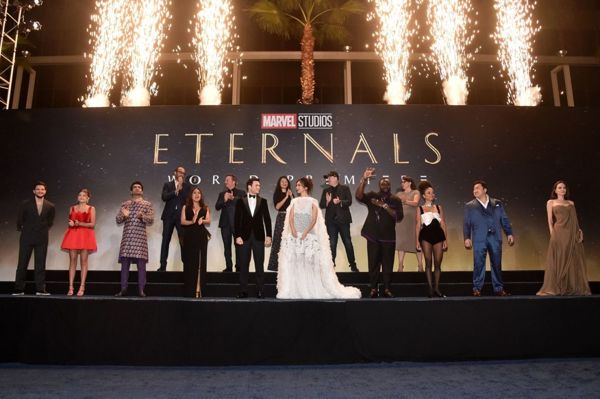 See the Cast and Crew of Marvel Studios' 'Eternals' from the World Premiere Event