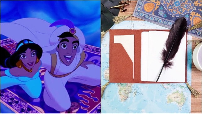 Discover A Whole New World With This Magic Carpet Passport Cover DIY