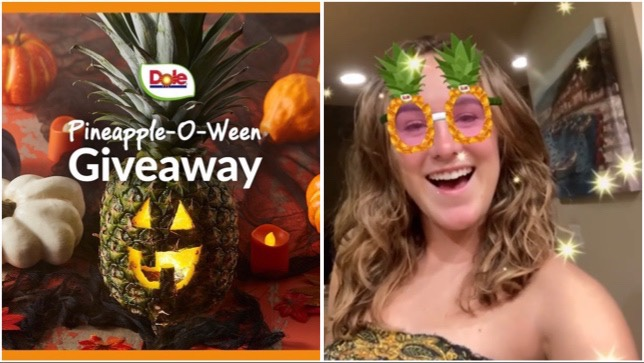 New Fun Dole Instagram Filter And Pineapple-O-Ween Giveaway!
