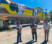 Disneyland Monorail Cast Members return to work 11