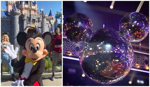'Dancing with the Stars' Cast Visits Disneyland Before Double Disney Night on ABC 1