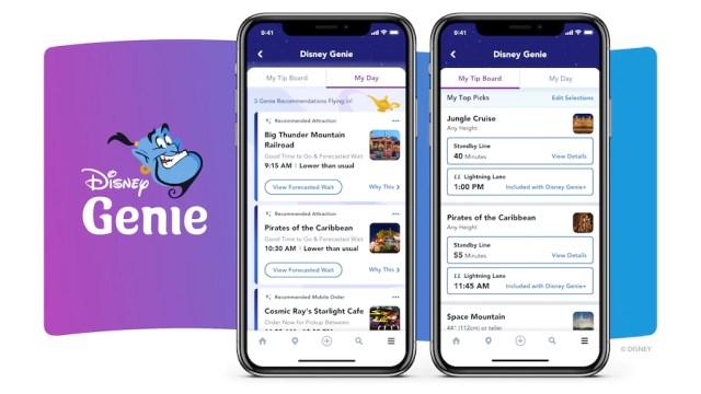 What is Disney Genie, Disney Genie+, and Lightning Lane 1