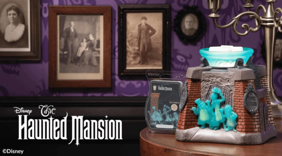 Spooky New Haunted Mansion Scentsy Collection