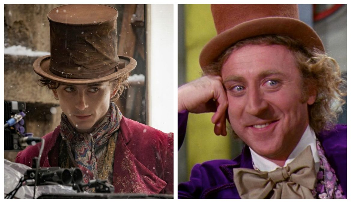 """Timothée Chalamet Shares First Look in Costume for """"Wonka"""""""