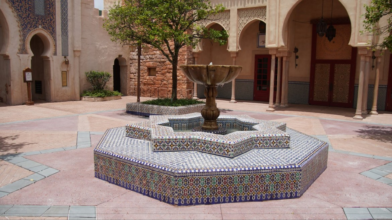 More construction for Epcot's Morocco Pavilion