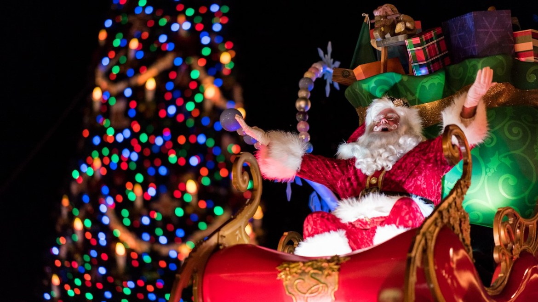 Santa Claus is Coming to Town at Walt Disney World Resort