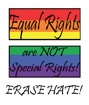 Equal rights are not special rights