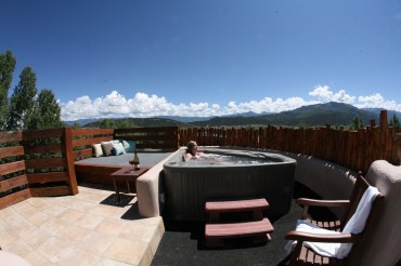 Accommodations Ridgway Colorado Hotel with rooftop hot tub