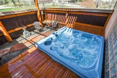 Dominguez Hot Tub Above View