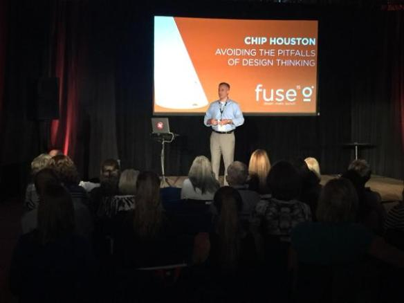 Avoiding the Pitfalls of Design Thinking at #Fuse15 Conference