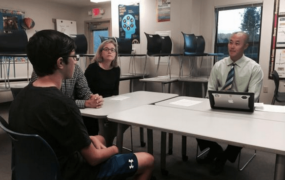 Feedback from Student Led Conferences