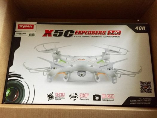 Drone Review: Syma X5C Explorer