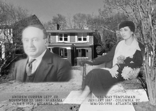 AC Lett Sr and Ethel T