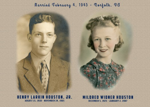 Henry and Mildred Houston