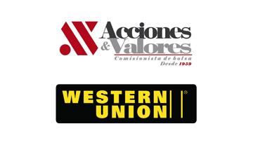ACCIONES Y VALORES (AGENTE DE WESTERN UNION)