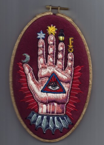 Mystic Hand Embroidery by Suzanne Forbes