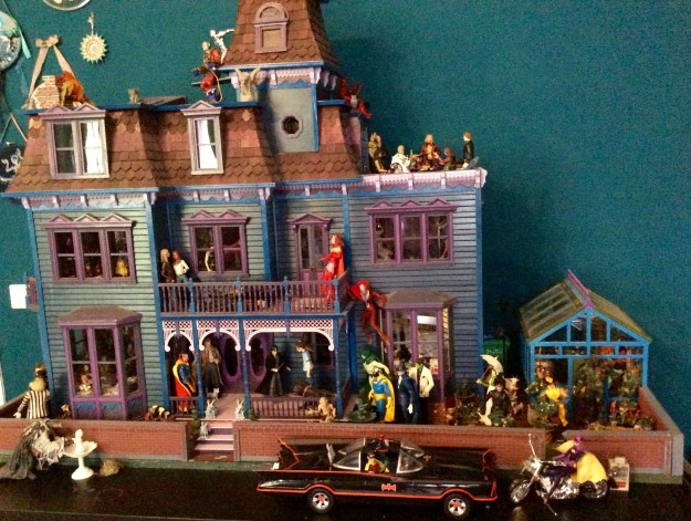 Action Figure Dollhouse by Suzanne Forbes