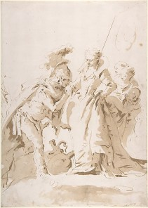 Tiepolo Meeting of Antony and Cleopatra
