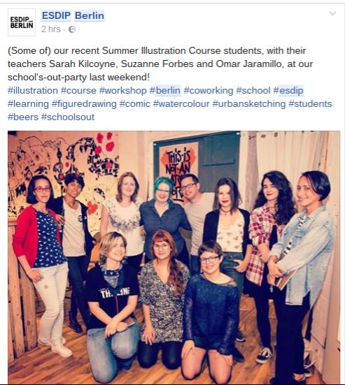 ESDIP summer students and teachers 2016