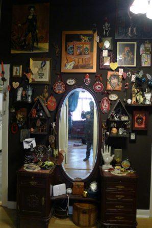 Suzanne Forbes decor hallway mirror