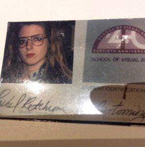 Suzanne Forbes Rachel Ketchum NYC SVA id 1988