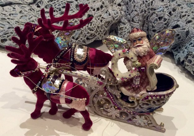 Fearless Pink Gay Santa by Suzanne Forbes Dec 2016