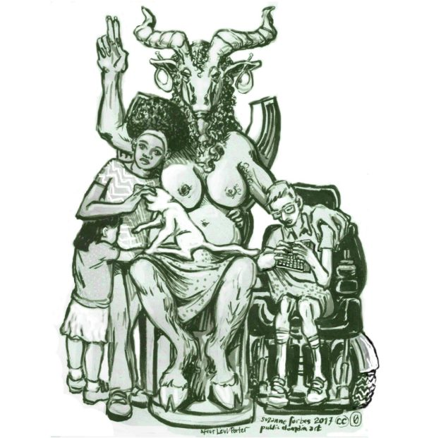 Public domain BaphoMeta by Suzanne Forbes Jan 2017