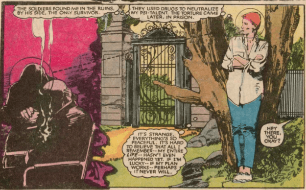 Rachel's first appearance, New Mutants 18 by Chris Claremont and Bill Sienkiewicz