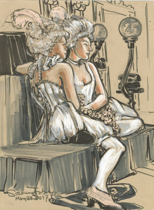 At Dr Sketchys Berlin Burlesque Week by Suzanne Forbes May 28 2017