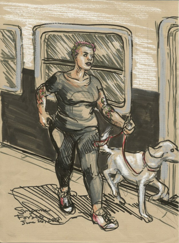 Transit doggy by Suzanne Forbes June 26 2017