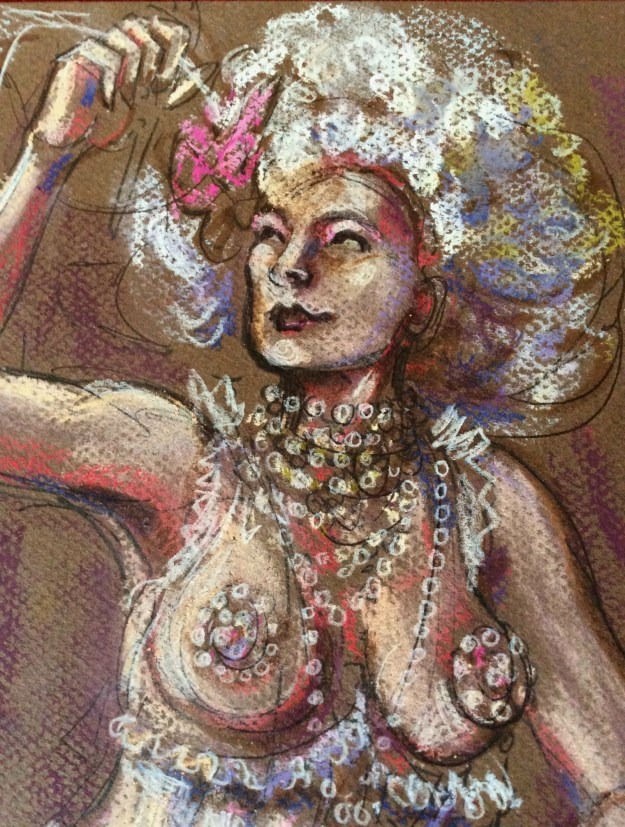 WIP VIva Lamour by Suzanne Forbes detail Feb 2018