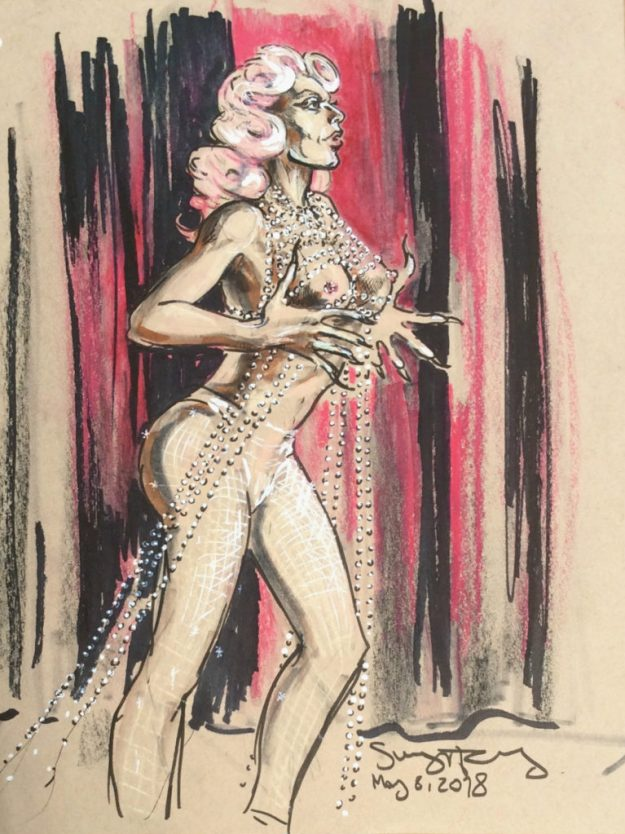 Betty Fvck at dr Sketchys Berlin by Suzanne Forbes May 8 2018
