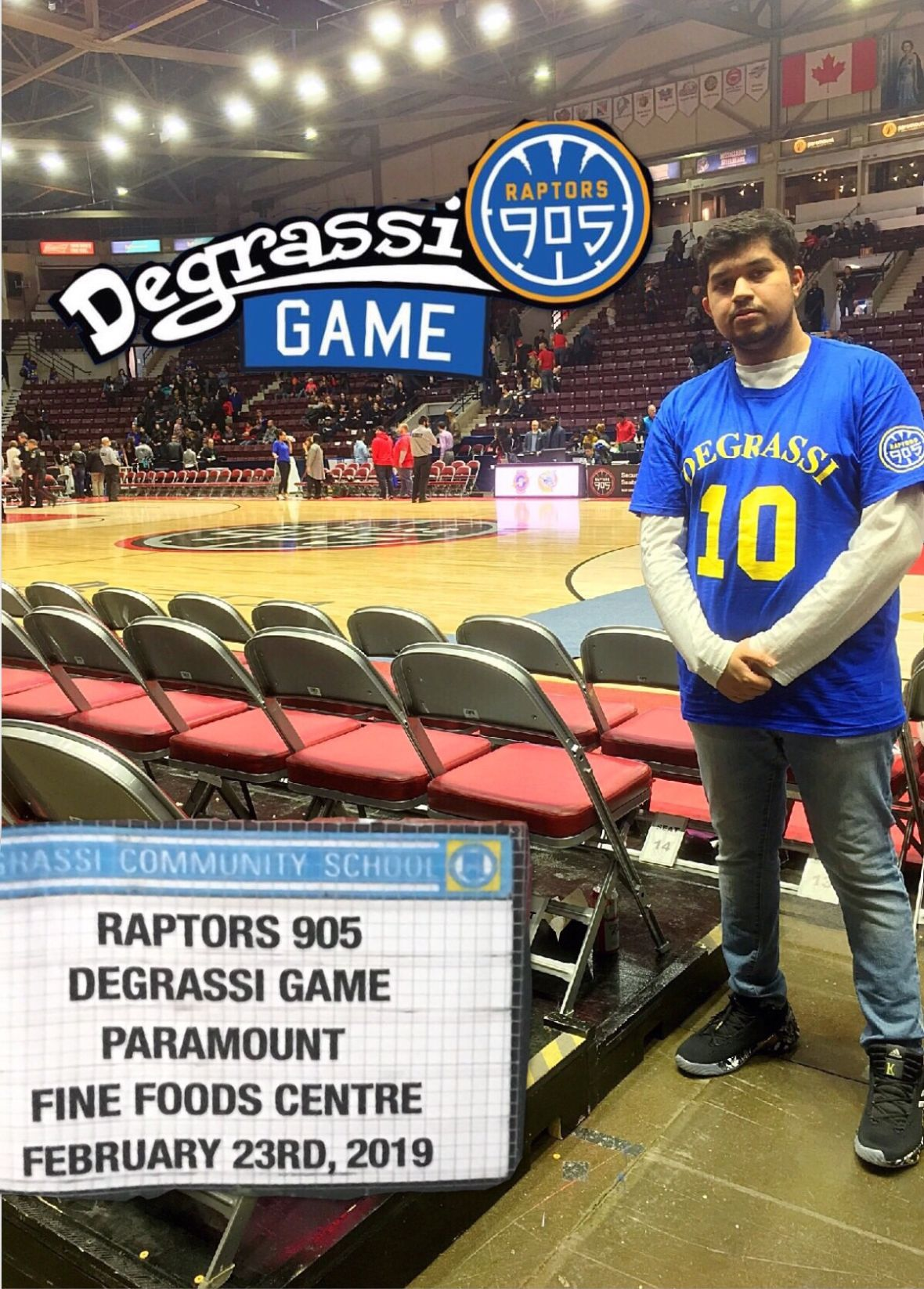 cd883547505 Recap + The Fit Break Down: Raptors 905 x Degrassi - Feb 23rd, 2019 ...
