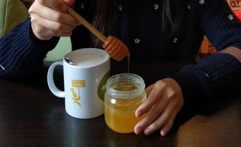 Cuib蜂蜜牛奶