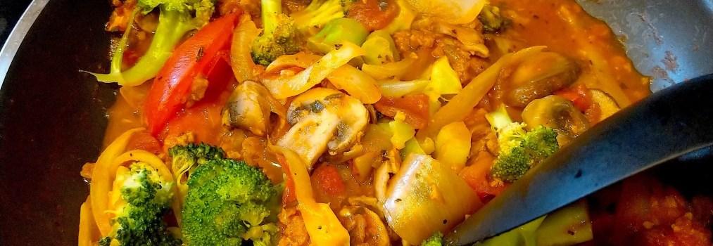 Week 30-旅人灶咖:素的茄汁肉醬義大利麵🌱