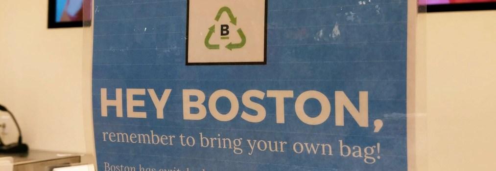 Week 37-波士頓的禁塑實況