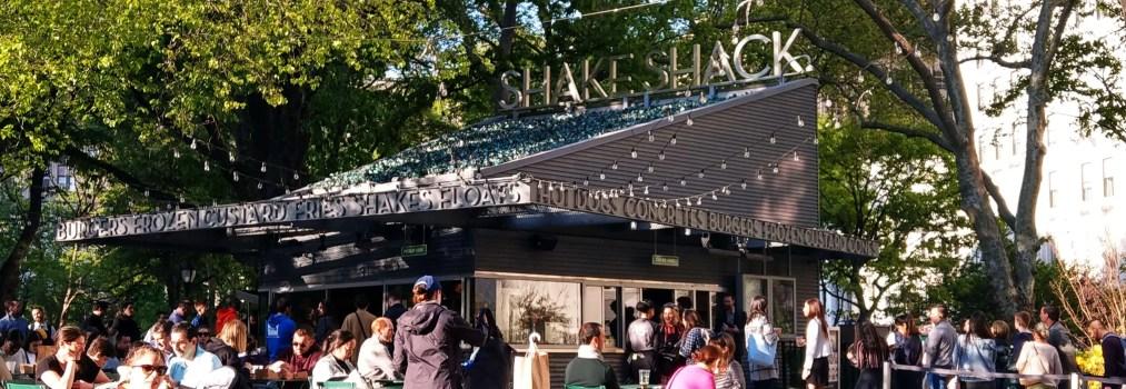 Shake Shack × 簡單舒心的素食厚菇漢堡