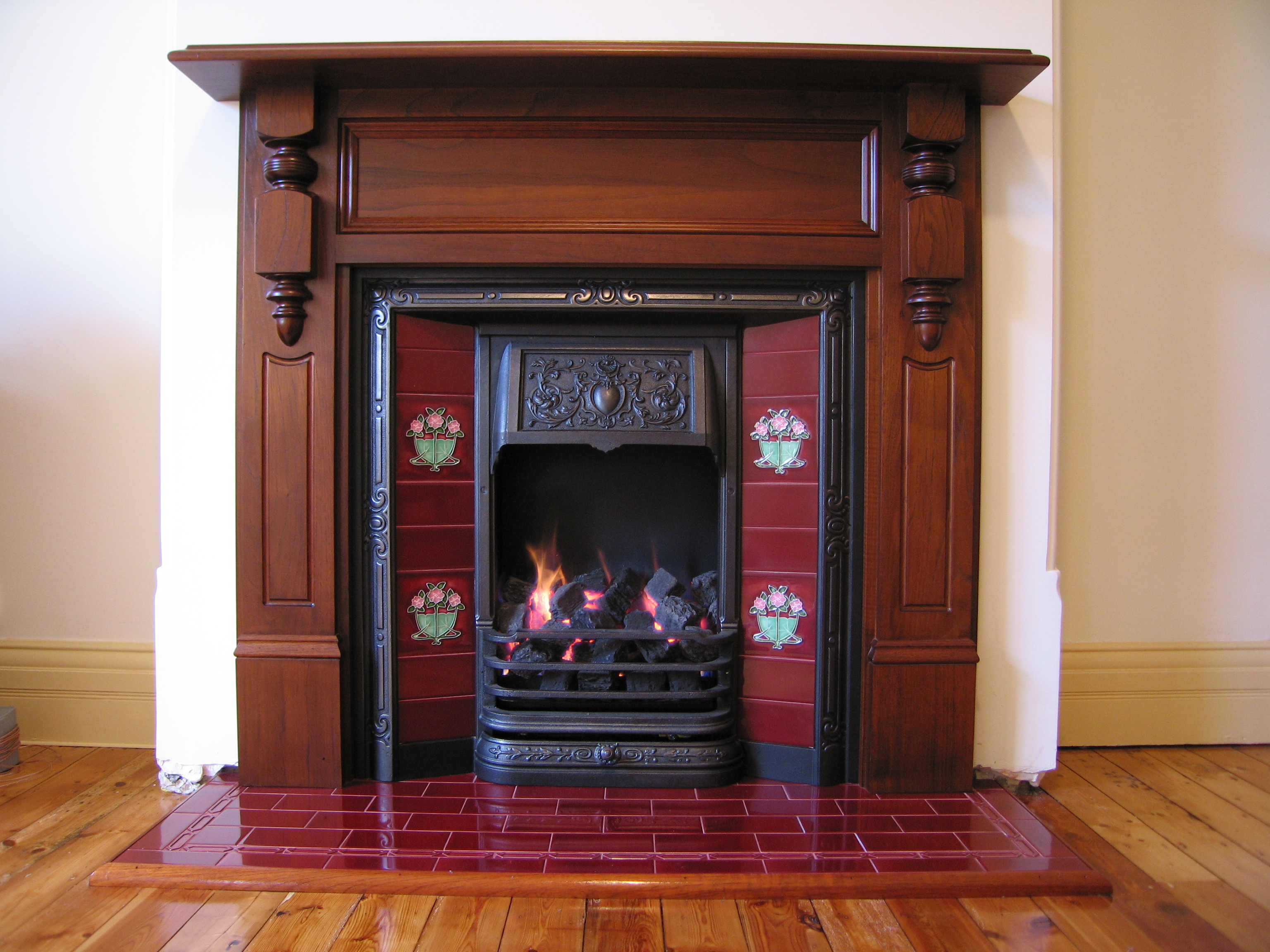 Federation Style Fireplace  chippendalerestorationsgasfires