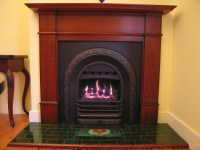 GAS COAL FIREPLACE GRATE  Fireplaces