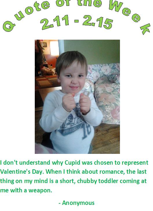 Valentines Day Quote from Reilly Chiropractic Kids need a Chiropractor too.