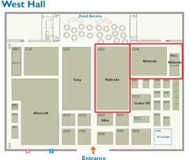 Reparto de espacio E3 2014 00