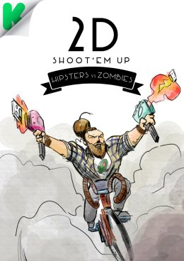 Hipsters-vs-Zombies_2D-Shoot'em-Up_Run-&-Gun-HZ_Hipster-Bici