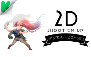 Hipsters-vs-Zombies_2D-Shoot'em-Up_Run-&-Gun-HZ_Hipster-Riot