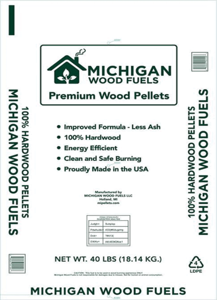 Michigan Wood Fuels bag