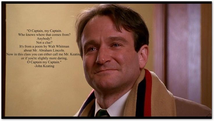 Robin Williams Oh Captain, My Captain