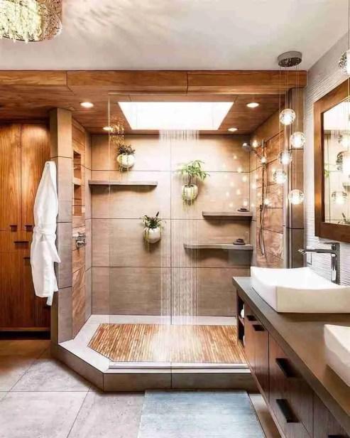 Wooden Bathroom Ideas 7 How to style a contemporary bathroom