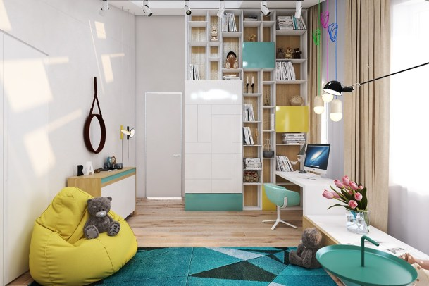 colorful kids room Stylish and Functional Kid's Bedroom