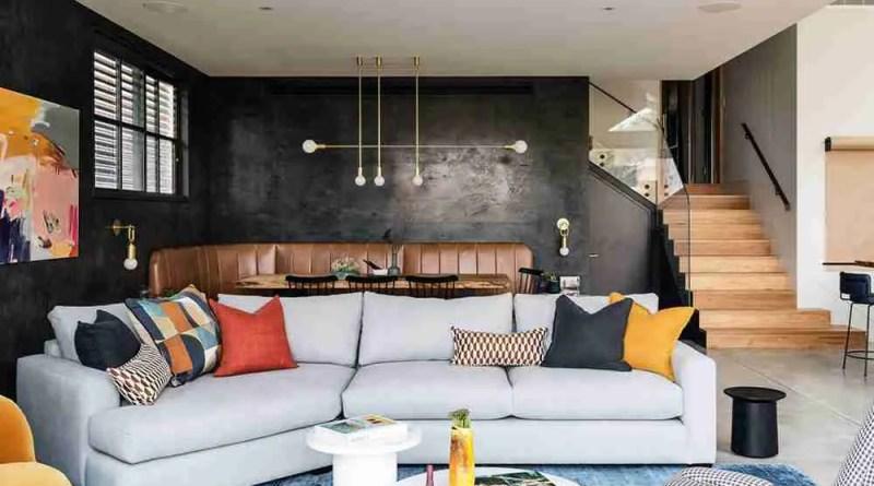 yarkim dom s kontrastami v sidnee pufikhomes 4 1 Interior Experts Advice For Decorating