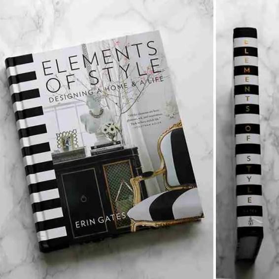 Erin Gates Elements of Style Cover Interior Design Books